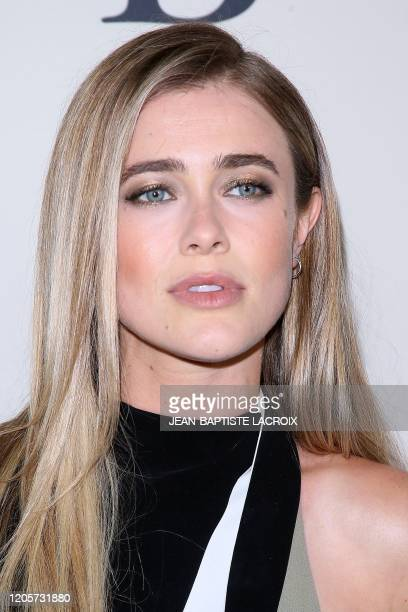 """Canadian actress Melissa Roxburgh arrives for the special screening of Lionsgate's """"I Still Believe"""" at the Archlight in Hollywood, California on..."""