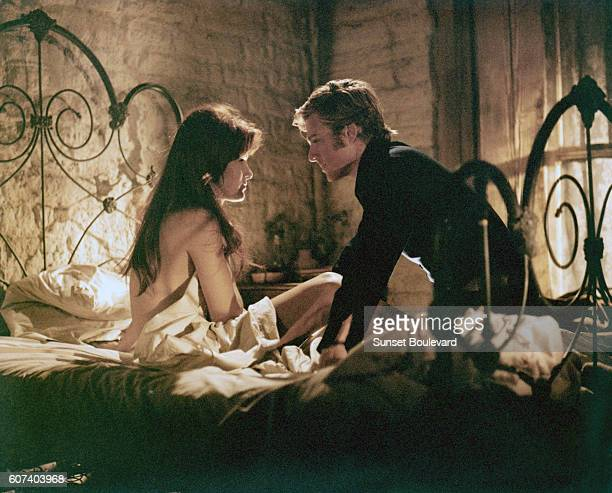 Canadian actress Susan Clark and American actor Robert Redford on the set of Tell Them Willie Boy is Here based on the book by Harry Lawton and...