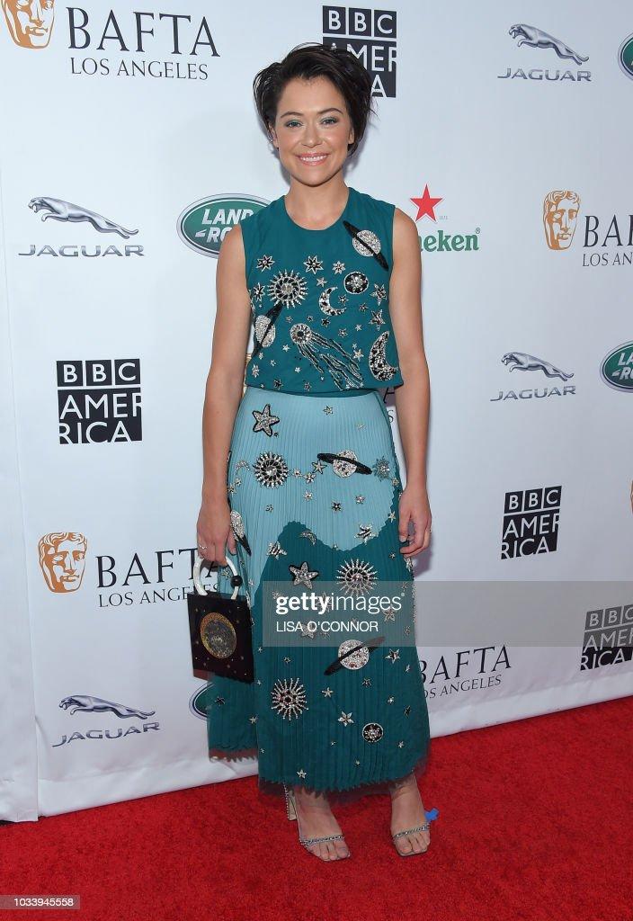 Canadian Actress Tatiana Maslany Attends The Bafta Los Angeles Bbc