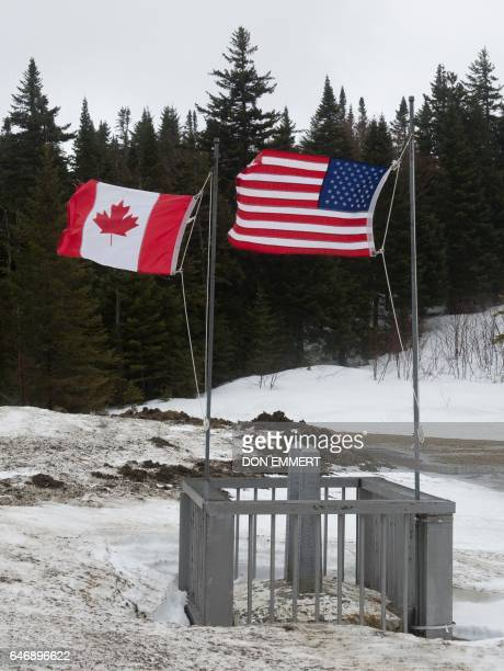 30 Top American And Canadian Flag Pictures, Photos and