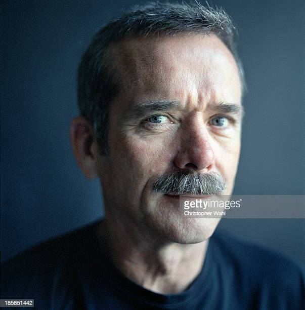 Canadian astronaut Chris Hadfield is photographed for Macleans Magazine on September 1 2013 in Toronto Ontario
