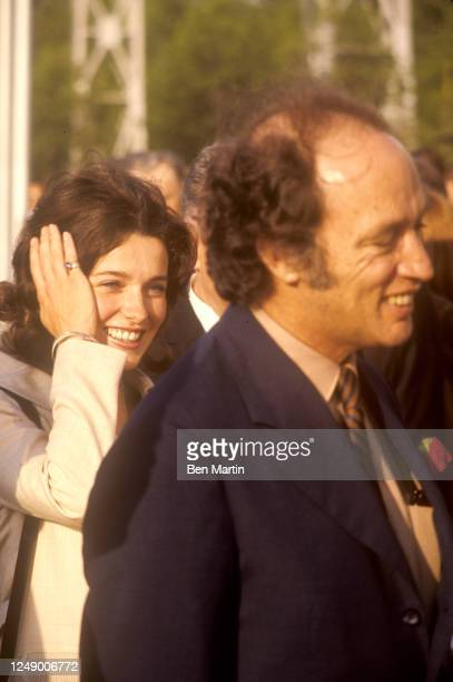 Canadian author, actress, photographer and activist Margaret Trudeau and Canadian politician Pierre Trudeau in Russia, May 1971.