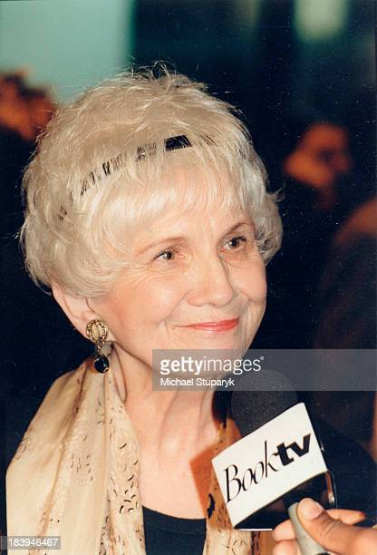 Canadian Author Alice Munro in Toronto February 9 1999