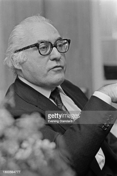 Canadian author and critic Milton Shulman , UK, 15th March 1973.