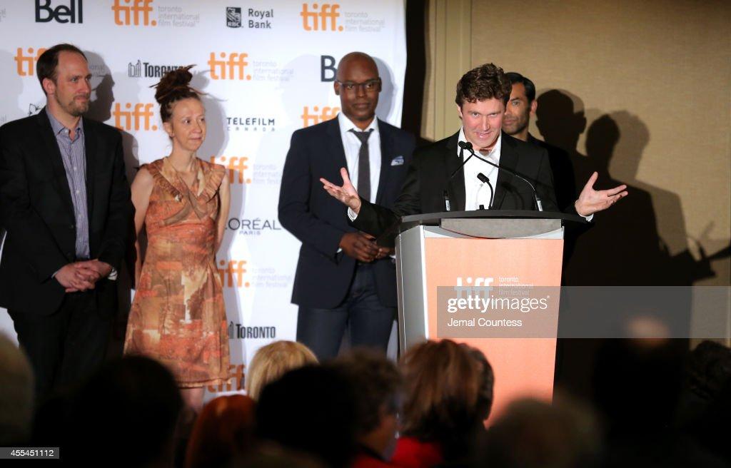 TIFF Awards Brunch - 2014 Toronto International Film Festival : News Photo