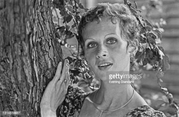 Canadian ballerina Jennifer Penney, a principal dancer with the Royal Ballet, UK, 13th July 1973.