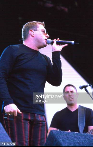 Canadian band Barenaked Ladies on stage 2000