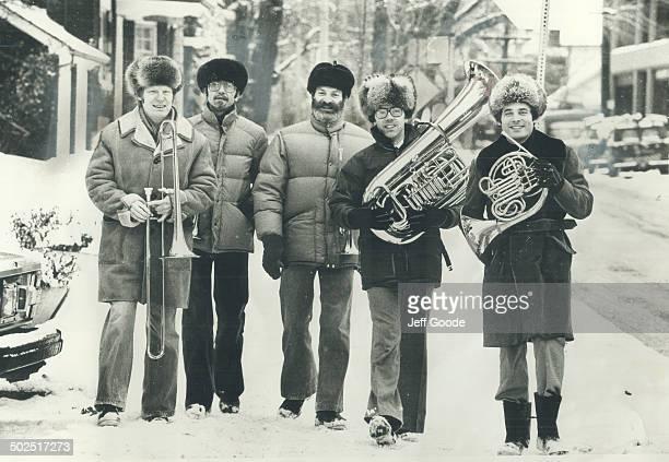Canadian Brass Chuck Daellenbach Fred Mills Ron Romm Gene Watts Graeme Page
