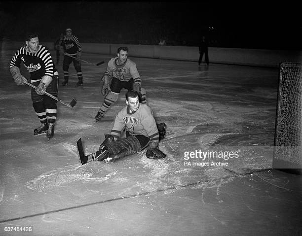 Canadian Chick Zamick scores for the Nottingham Panthers Real name Victor the Canadian went on to be one of Nottingham Panthers' all time leading...