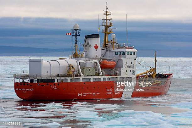 Canadian Coast Guard Icebreaker Sir Wilfred Laurier Northwest Passage Nunavut Arctic Canada