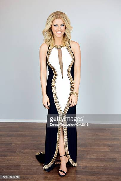 Canadian country music singer and songwriter Lindsay Ell poses for a portrait at the 51st Academy Of Country Music Awards on April 3 2016 in Las...