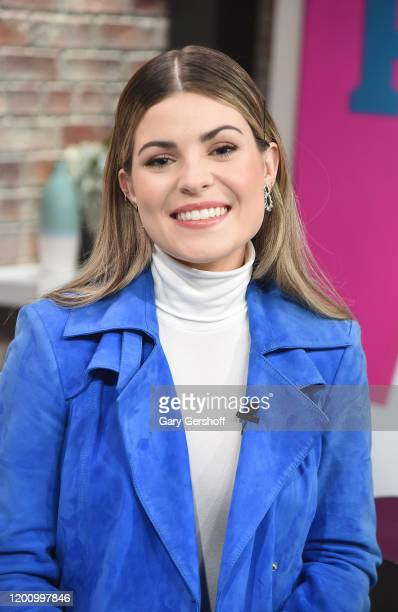 Canadian country music singer Tenille Arts visits People Now on January 21 2020 in New York City