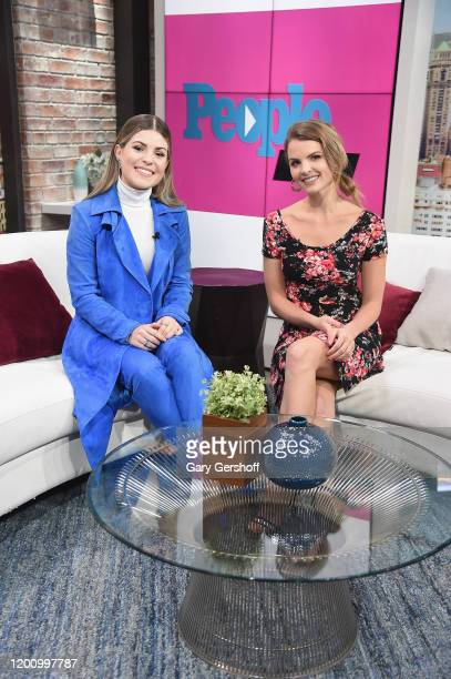 Canadian country music singer Tenille Arts visits People Now with host Andrea Boehlke on January 21 2020 in New York City