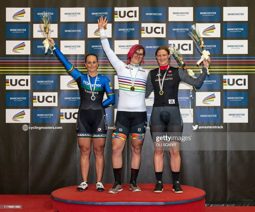 CYCLING-ENG-TRACK-WORLD-GENDER : News Photo