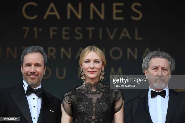 Canadian director and member of the Feature Film Jury Denis Villeneuve Australian actress and President of the Jury Cate Blanchett and French...