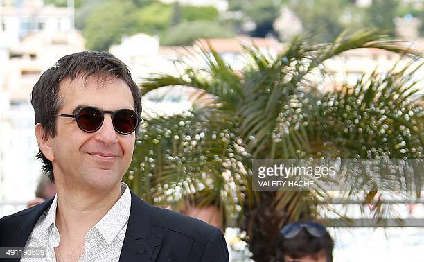Canadian director Atom Egoyan poses during a photocall for the film Captives at the 67th edition of the Cannes Film Festival in Cannes southern...