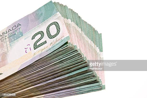 canadian dollars - canadian currency stock pictures, royalty-free photos & images
