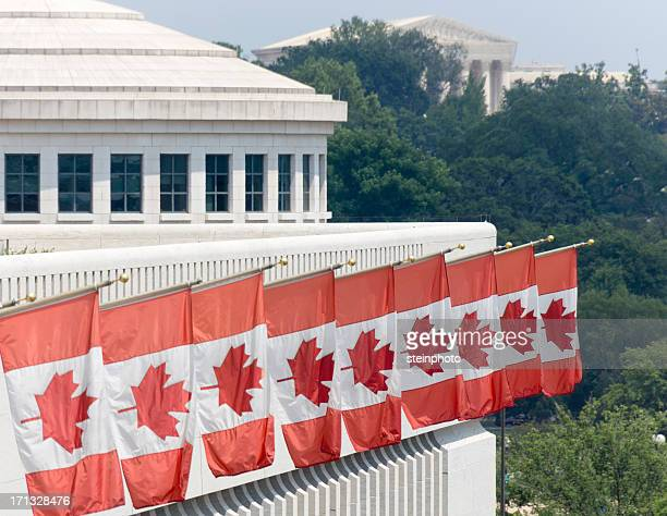 canadian embassy in washington dc - embassy stock pictures, royalty-free photos & images