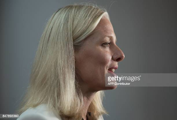 Canadian Environment Minister Catherine McKenna attends a ministerial meeting hosted by Canada to push forward on the Paris climate accord on...