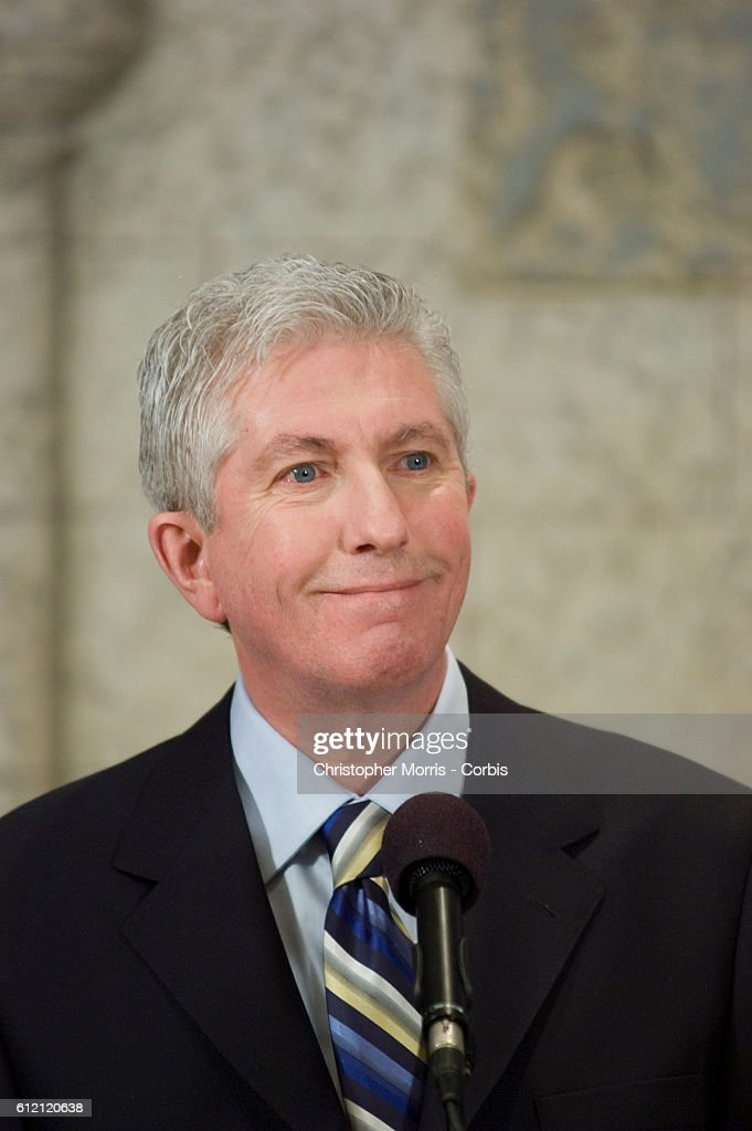 Canadian Federal Party Bloc Quebecois Leader Gilles Duceppe