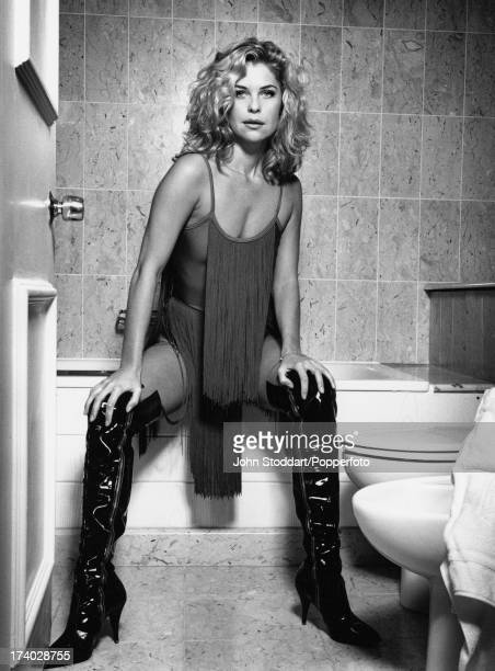 Canadian film and television actress Kate Vernon 1992