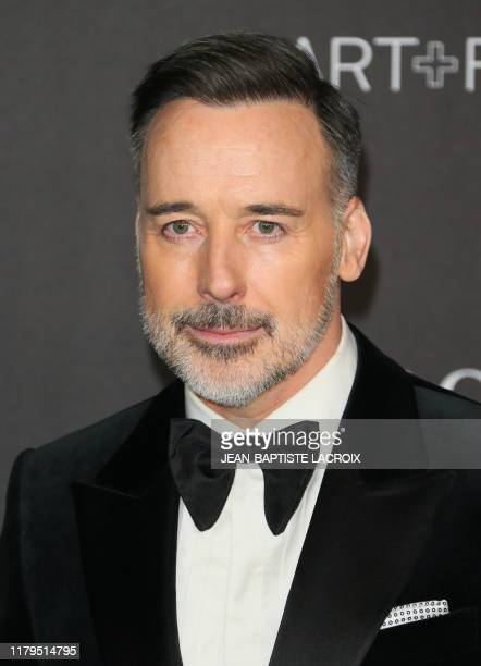 Canadian filmmaker David Furnish arrives for the 2019 LACMA ArtFilm Gala at the Los Angeles County Museum of Art in Los Angeles on November 2 2019