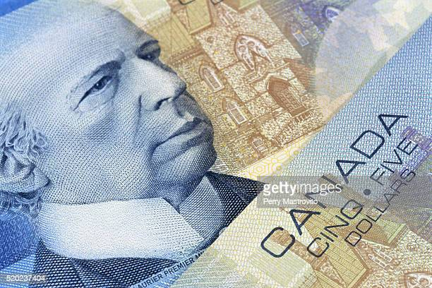 Canadian Five-Dollar Notes