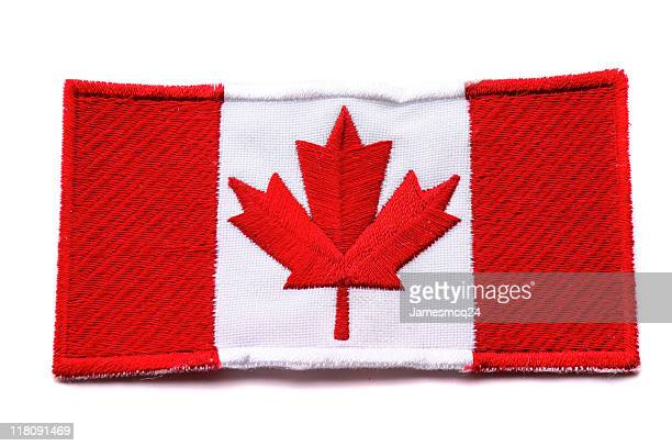 canadian flag - canadian flag stock pictures, royalty-free photos & images