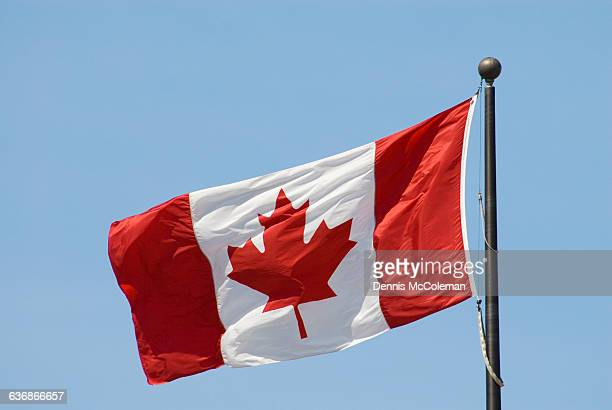 canadian flag - ottawa stock pictures, royalty-free photos & images
