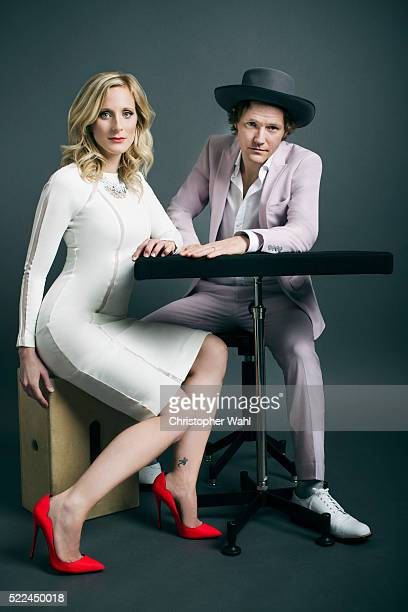 Canadian folk rock band composed of husbandandwife duo Luke Doucet and Melissa McClelland are photographed at the 2016 Juno Awards for The Globe and...