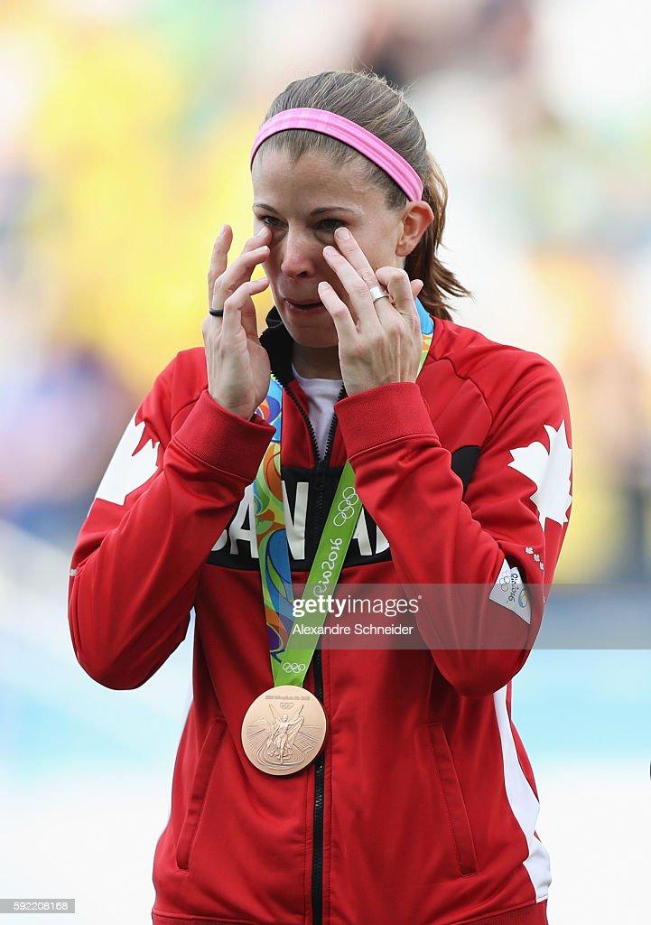 Brazil v Canada Bronze Medal Match: Women's Football - Olympics: Day 14 : Foto jornalística
