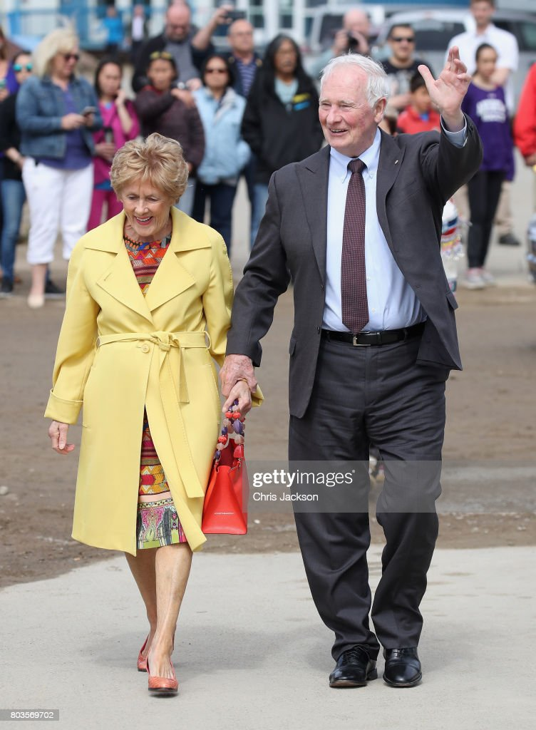 The Prince Of Wales & Duchess Of Cornwall Visit Canada - Day 1