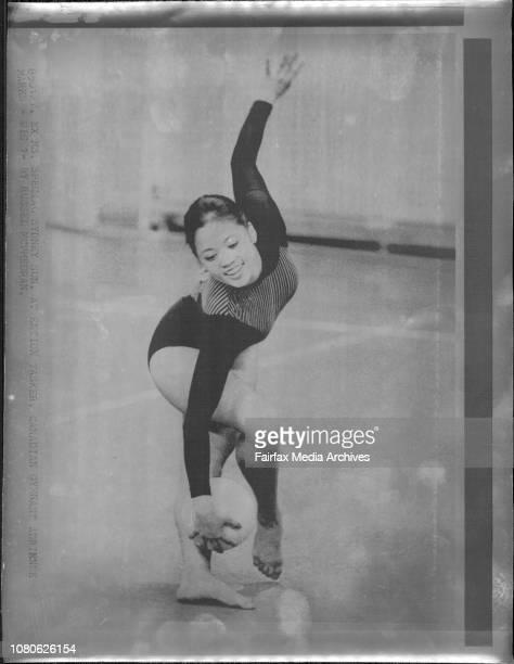 Canadian Gymnast Adrienne Marks January 27 1985