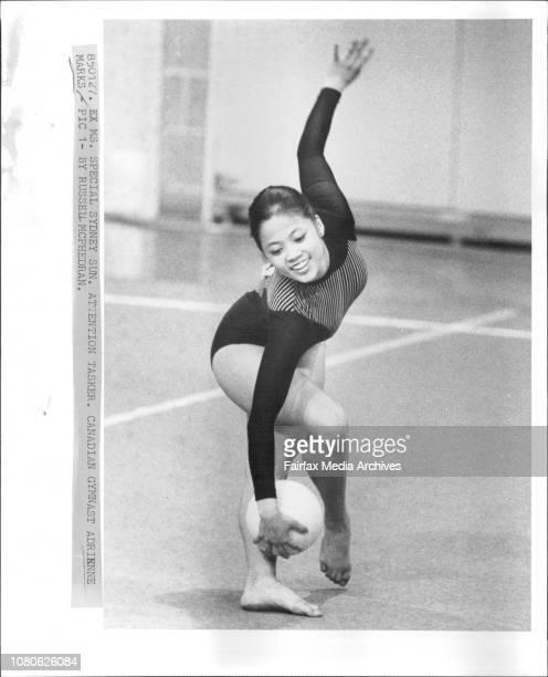Canadian Gymnast Adrienne MarksAdrienne Marks of Canada16yr old Canadian Gymnast Adrienne Marks January 27 1985