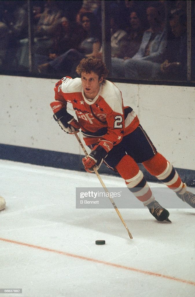Canadian hockey player Nelson Pyatt of the Washington Capitals skates with  the puck during a game d42a49e1bfd