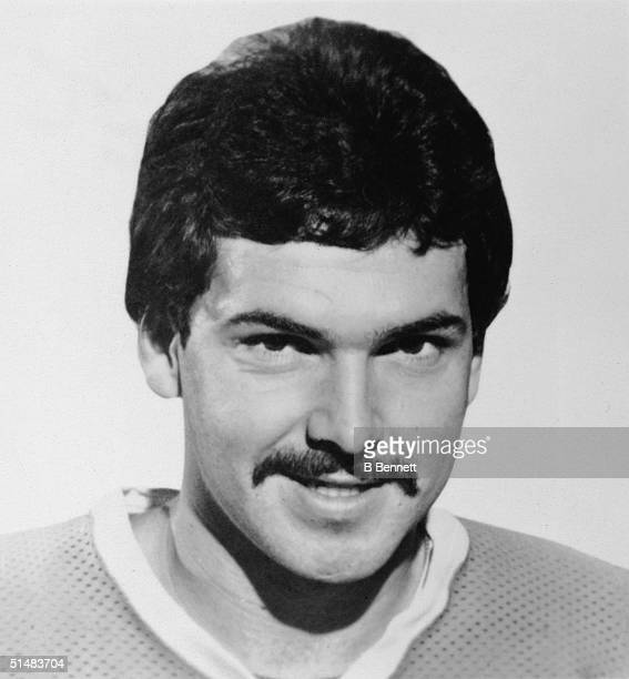 Canadian hockey player Real Cloutier forward for the World Hockey Association's Quebec Nordiques from 1974 1979 Quebec late 1970s