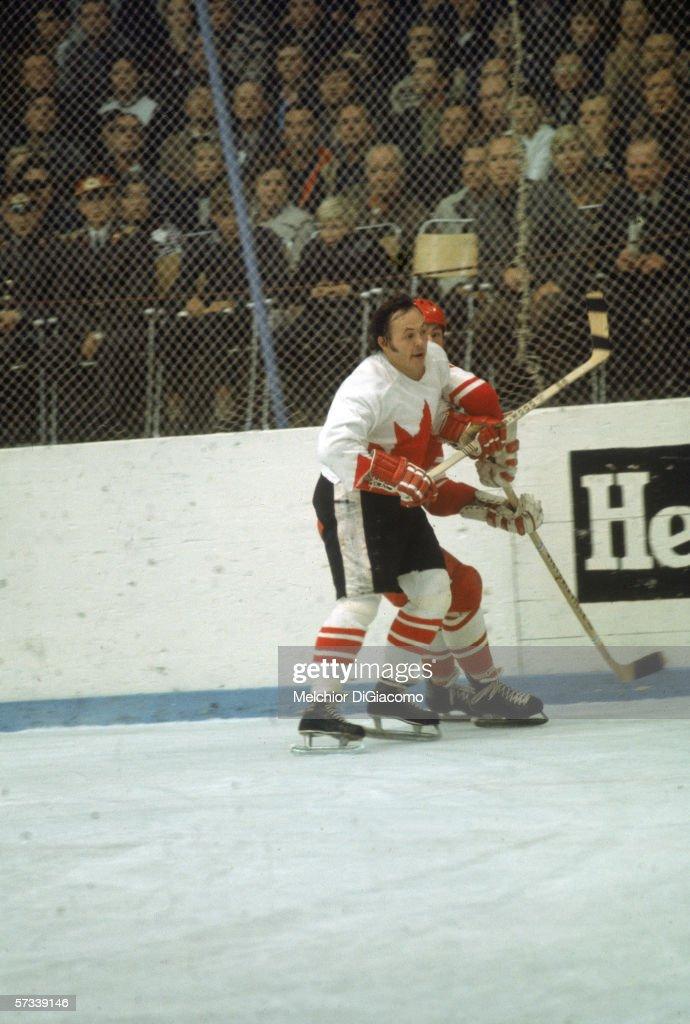Russia Vs. Canada In The 1972 Summit Series : News Photo