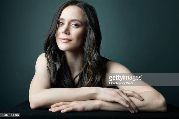 Canadian ice dancer Tessa Virtue is photographed for The Kit on March 7 2018 in Toronto Ontario