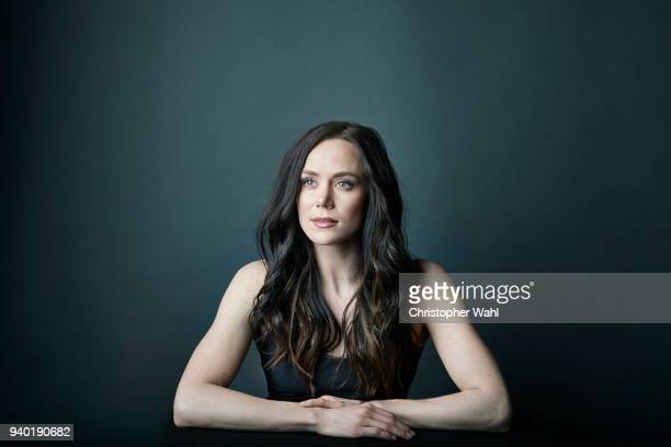 Canadian ice dancer Tessa Virtue is photographed for The Kit on March 7 2018 in Toronto Ontario PUBLISHED IMAGE