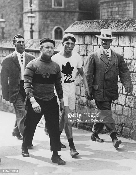 Canadian marathon runner during the 1908 Summer Olympics in London.