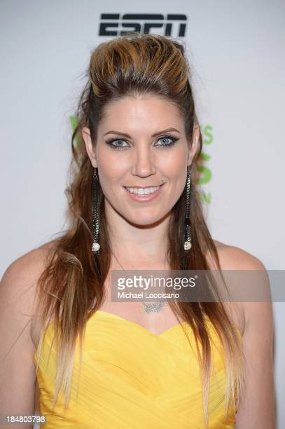 Canadian Motocross National Champion Jolene Van Vugt attends the 34th annual Salute to Women In Sports Awards at Cipriani Wall Street on October 16...