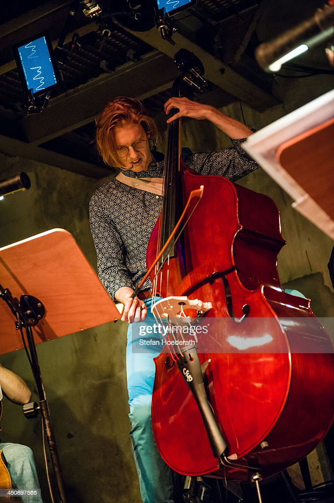 Richard Reed Parry Performs At Yellow Lounge In Berlin : News Photo
