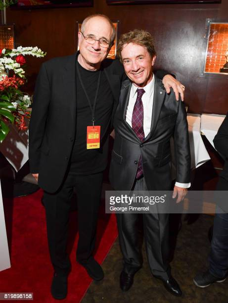 Canadian music producer Bob Ezrin and Martin Short attend the Dave Thomas And The Second City Present 'Take Off EH' An AllStar Benefit after party...