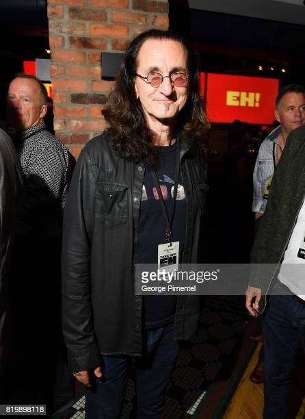 Canadian musician for the band RUSH Geddy Lee attend the Dave Thomas And The Second City Present 'Take Off EH' An AllStar Benefit after party for...