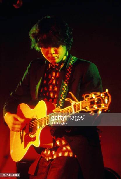 Canadian musician Ron Sexsmith on stage 1997