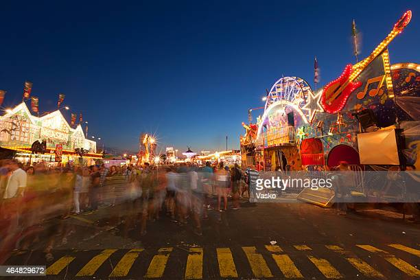 canadian national exhibition - fun house stock pictures, royalty-free photos & images