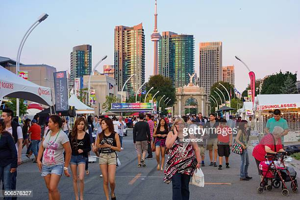 canadian national exhibition,  toronto - canadian national exhibition stock photos and pictures