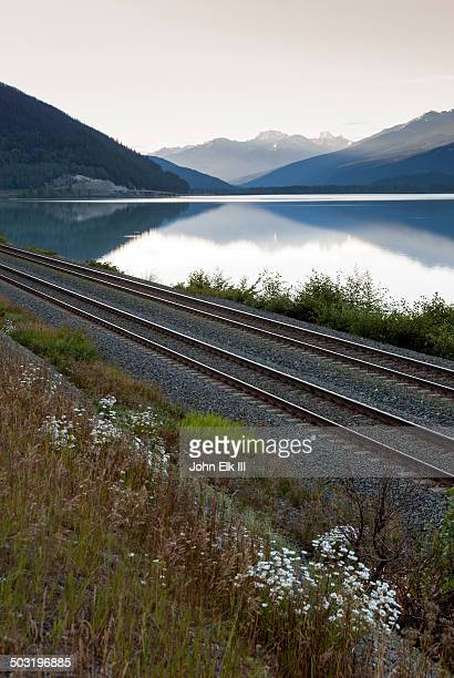 Canadian Pacific Railroad tracks