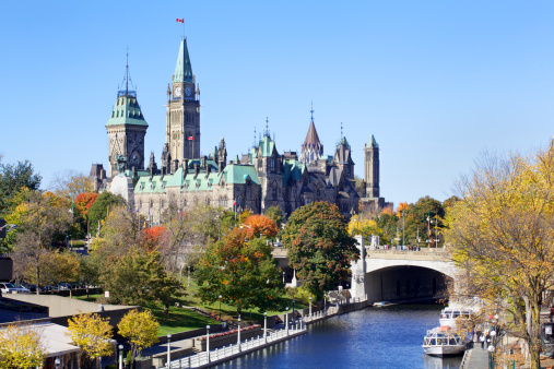 Canadian Parliament and Rideau Canal (XXXL) 153709676