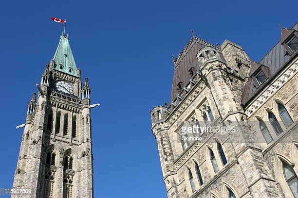 Canadian Parliament Building on a clear day